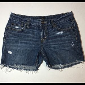 Ann Taylor Boyfriend Denim Jean Cut-Off Short | 4